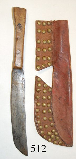 512: PLAINS KNIFE SHEATH
