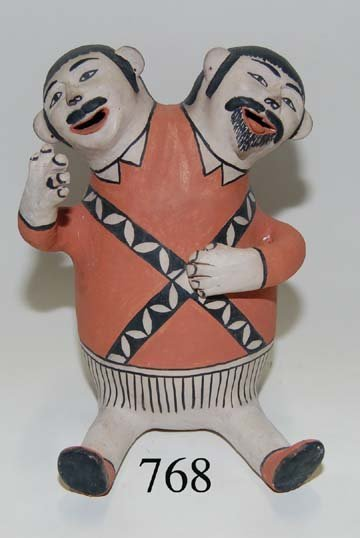 768: COCHITI POTTERY FIGURE