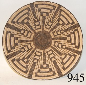 945: PIMA BASKETRY TRAY