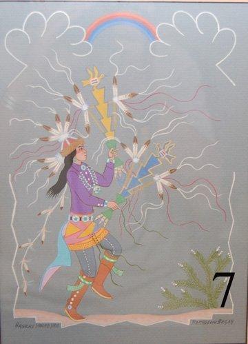 7: NAVAJO PAINTING