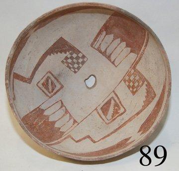 89: MIMBRES POTTERY BOWL