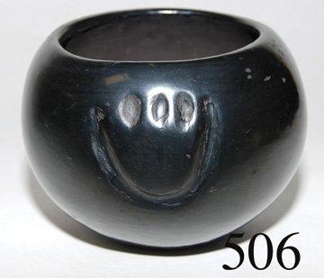 506: SANTA CLARA POTTERY BOWL