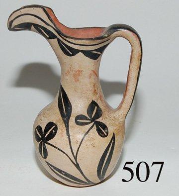 507: SANTO DOMINGO POTTERY PITCHER