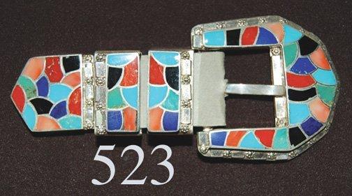 523: ZUNI BUCKLE SET