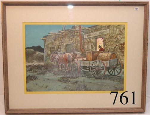 761: WESTERN PAINTING