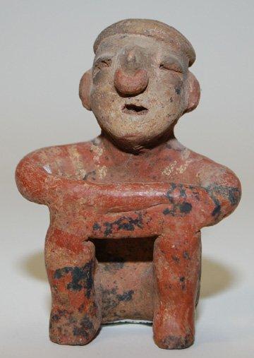 18: PRECOLUMBIAN POTTERY IDOL