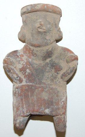 19: PRECOLUMBIAN POTTERY IDOL