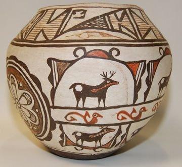 80303: Zuni pottery olla