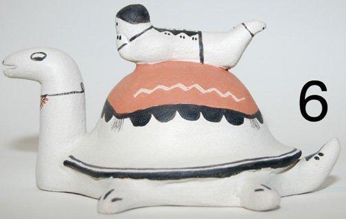 6: COCHITI POTTERY TURTLE