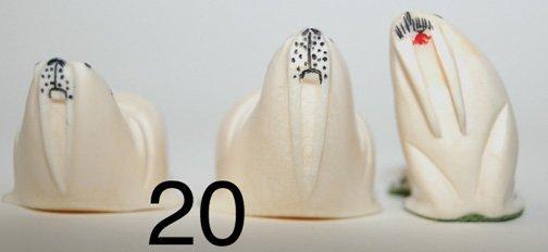 20: THREE  SCULPTURES