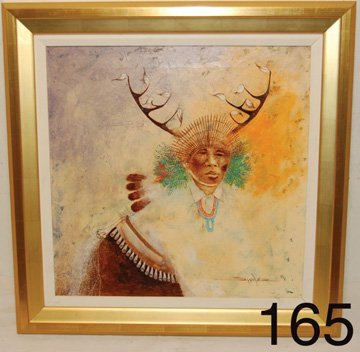 165: TESUQUE PAINTING
