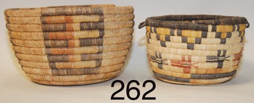 262: TWO  BASKETS