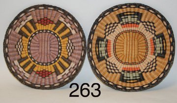 263: TWO  TRAYS