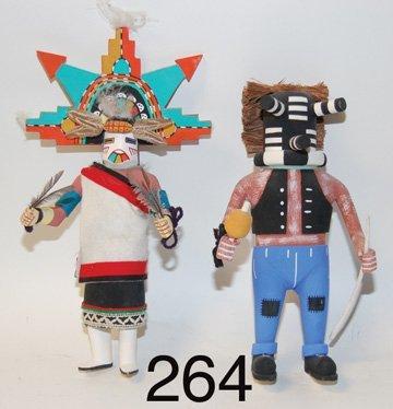 264: TWO KACHINAS