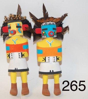 265: TWO KACHINAS