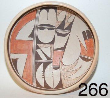 266 :HOPI  POTTERY BOWL