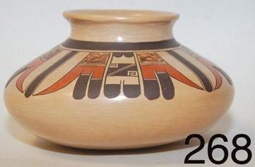 268: HOPI POTTERY JAR