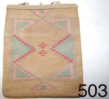 503: NEZ PERCE CORN HUSK BAG