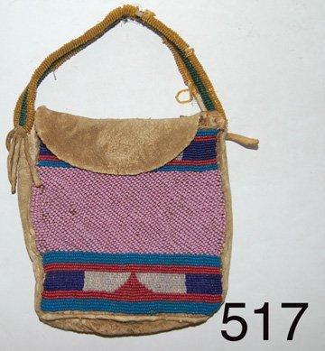 517: BEADED BAG