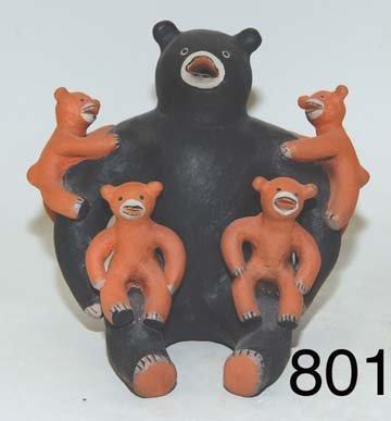 801: COCHITI POTTERY FIGURE