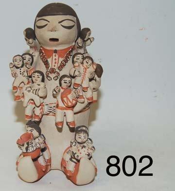 802: COCHITI POTTERY STORYTELLER