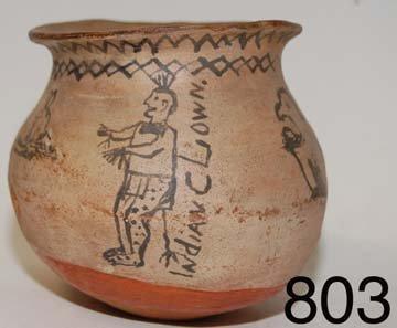803: POTTERY JAR