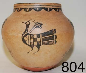 804: COCHITI POTTERY JAR