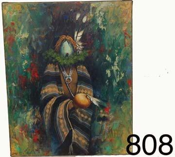808: NAVAJO PAINTING