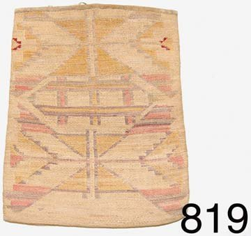 819: NEZ PERCE CORN HUSK BAG