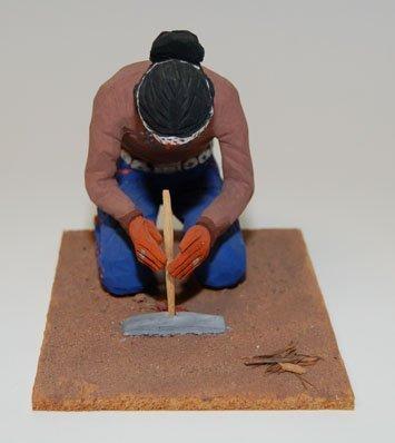 3: NAVAJO WOOD CARVING