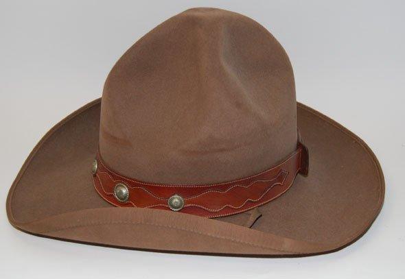 17: WESTERN FELT HAT