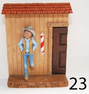 23: WOOD CARVING