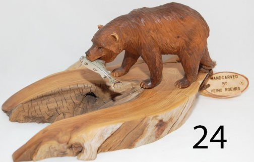 24: WOOD CARVING