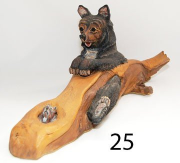 25: WOOD CARVING