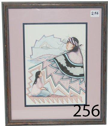 256: SAN CARLOS APACHE/PIMA DRAWING