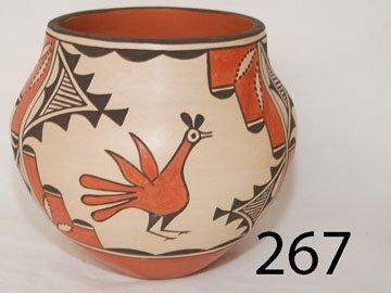 267: ZIA POTTERY JAR