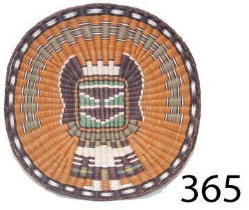 365: HOPI BASKETRY TRAY