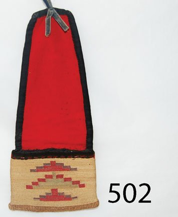 502: NEZ PERCE CORN HUSK POUCH