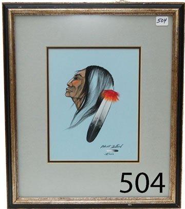 504: KIOWA PAINTING
