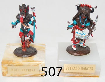 507: TWO BRONZES