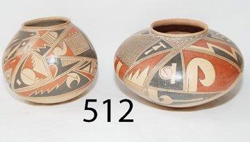 512: TWO POTTERY CASAS GRANDES JARS