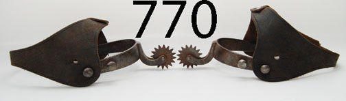 770: PAIR OF SPURS