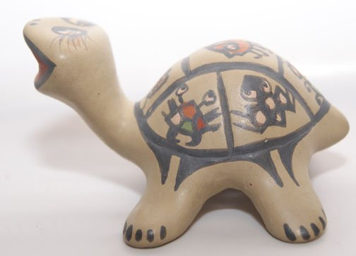 3: SANTA CLARA POTTERY TURTLE