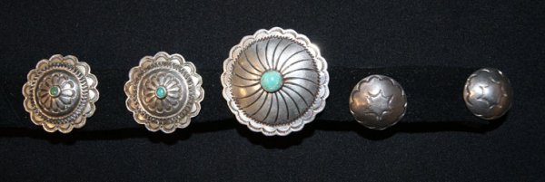 256: MISCELLANEOUS NAVAJO SILVER JEWELRY