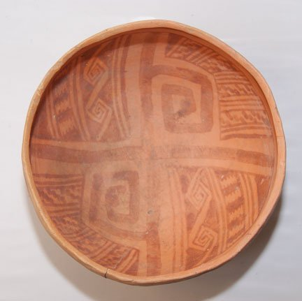 270: ANASAZI POTTERY BOWL