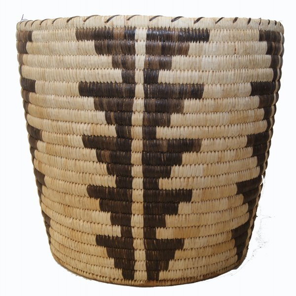 3: large papago basket