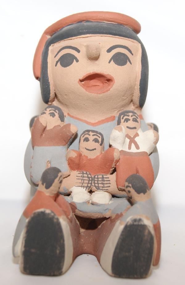 9: Jemez Pottery Storyteller