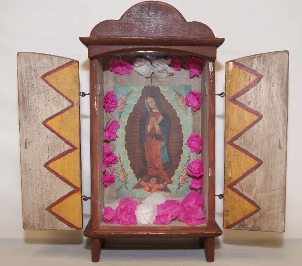 10: Mexican Wood Nicho