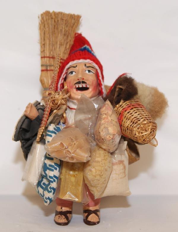 12: South America Pottery Doll