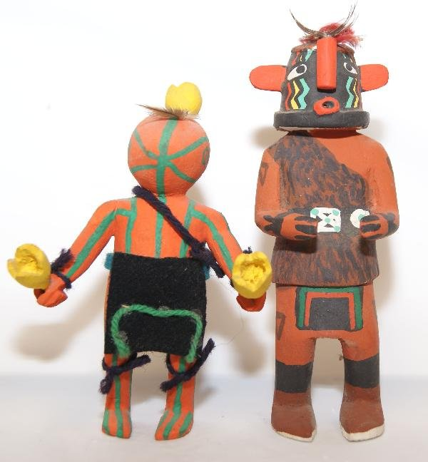 16: 2 Hopi Kachinas